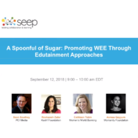 A spoonful of sugar - promoting WEE through edutainment approaches
