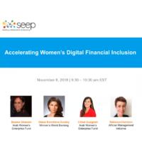 Accelerating women's digital financial inclusion