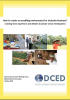 DCED BE WG Cover page image Creating and Enabling Environment for Inclusive Business