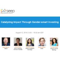 Catalysing impact through gender-smart investing