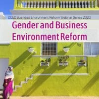 Gender and Business Environment Reform