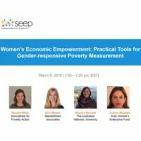 WEE practical tools for gender-responsive poverty measurement
