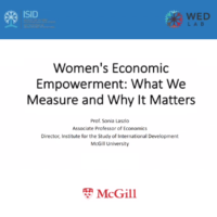 WEE what we measure and why it matters